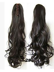Tiger Clip Long Hair Ponytail    2#
