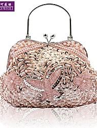 de aikeweili®women noite saco da forma do estilo chinês saco noiva do vintage luxo casual all-jogo bolsa das senhoras