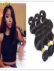 3PCS/Lot Unprocessed 8A Brazilian Virgin Hair Body Wave Human Hair Weave Body Stocking Sell Hair Extension Wave