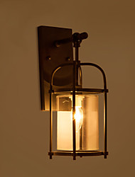 Creative Industrial Look Lamps North America Style Wall Lamps with Edison Flute Bulb Inside Bar Decoration Lights
