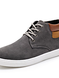 Men's Shoes Casual Suede Fashion Sneakers Black / Blue / Yellow / Gray