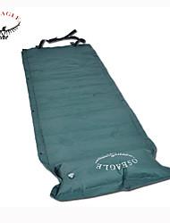Moistureproof Waterproof PVC Inflating Mat 1x Single Sleeping Mat Mattress Pad Portable Bed With Pillow Camping Outdoor