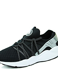 Korean Style Men's Fashion Trend Breathable Upper Running Shoes in Casual Style Low-top Athletic Shoes/Sneakers