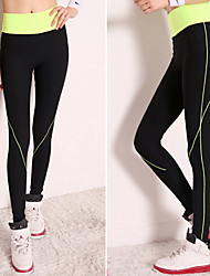 Running Pants/Trousers/Overtrousers / Leggings / Bottoms Women's Compression / Lightweight Materials / Stretch / Sweat-wicking Chinlon