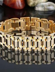 Bracelet - en Plaqué Or - Vintage / Mignon / Soirée / Travail / Décontracté - Lien / Chaîne