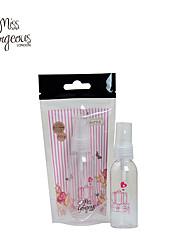 Мисс шикарный пластиковый прозрачный пустая бутылка спрей для макияжа многоразового бутылку духов ПЭТ-бутылки с распылителем насос