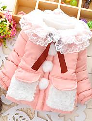 Girl's Cotton Jacket & Coat , Winter Long Sleeve