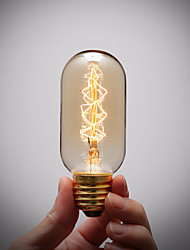 Pure Cupper Lamp Cap Retro Vintage E27 Artistic Filament Bulb Industrial Incandescent 40W