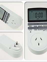 interruptor da tomada temporizador doméstico grande ecrã LCD