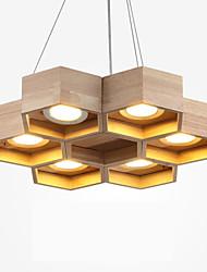Montaggio del flusso - Contemporaneo - DI Legno/bambù - LED