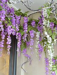 Ramo Seda Violeta Flor de Mesa Flores artificiais