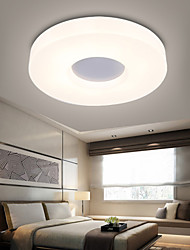 Round Ceiling Lights/Flush Mount LED Modern/Contemporary Living Room / Study Room/Office / Entry / Hallway/Aisle/ Metal