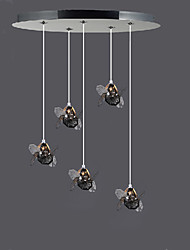 Simple Modern Dandelion Crystal Pendant lamp Patented Product 5A
