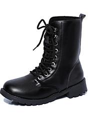 Women's  Low Heel Round Toe / Closed Toe Boots