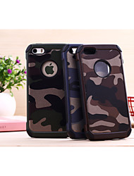 Disruptive Pattern Drop resistance PC Mobile phone for iPhone5/5S Assorted Color