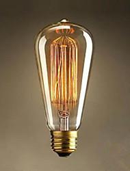 ST64 Straight Wire Tungsten Art Decoration Light