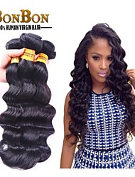 3pcs/lot Malaysian Virgin Hair Weaving Natural Black