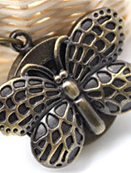 Woman Quartz Butterfly Pocket Watch Cool Watches Unique Watches