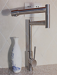 The Double Elbow Lead-Free Security 304 Stainless Steel Cold Heat Sink Faucet Rotate 360 Degrees