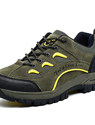 New Fashion Men's Hiking Climming Shoes Outdoor Sports Brand Waterproof Shoes Leatherette Green/Gray/Brown