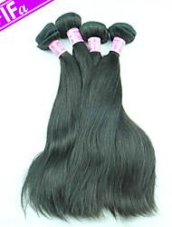 Virgin Peruvian Hair 4Pcs/Lot Straight Hair Remy Peruvian Virgin Hair Extension Color 1B