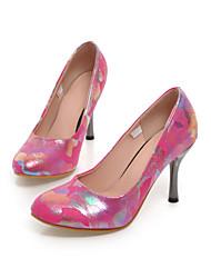 Черный / Зеленый / Розовый / Красный / Белый - Женская обувь - Для праздника / На каждый день / Для вечеринки / ужина - Дерматин -На