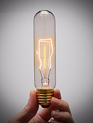 soquete da lâmpada de cobre puro retro do vintage e27 artístico lâmpada de filamento incandescente industrial lâmpada 40w