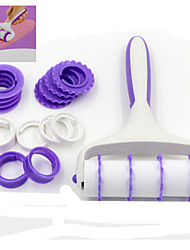 Fondant Cake Decorating Roller Lace Decoration Tool Set