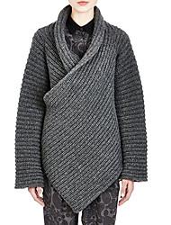 Yazhe Woman'S Irregular Cardigan Sweater