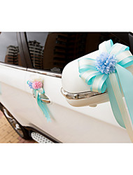 Artificial Flower Decoration Car Door (18*40cm)