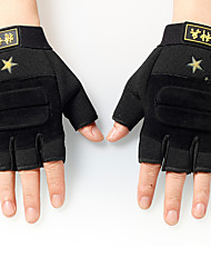 2015 New Fashion Outdoor Sport Man Gym Game Riding Gloves Half Finger