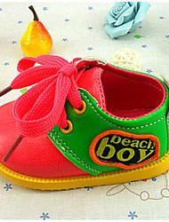 Zapatos de bebé - Sneakers a la Moda - Casual - Semicuero - Rosa / Naranja