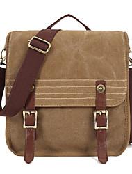 2015 Kaukko High Density Cotton Canvas Single Pure Color Unisex Canvas Sports Shoulder  Messenger Bag
