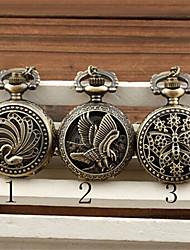 Женские Карманные часы Кварцевый сплав Группа бренд-
