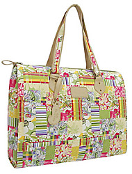 Women Bags All Seasons PU Canvas Tote with for Casual Screen Color
