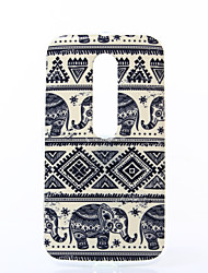 Elephant Pattern TPU Soft Case for Motorola Moto G3