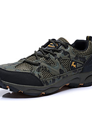 Men's Hiking Climming Shoes New Fashion Outdoor Sports Brand Waterproof Shoes Leatherette Gray/Brown