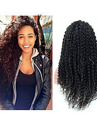 "10""-30"" Brazilian Human Hair Lace Wig Kinky Curly Glueless Full Lace Wigs For Black Women,Afro Curly Lace Front Wig"