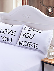 I LOVE YOU MORE Pillow Case Cover Pillow Christmas Romantic Anniversary Wedding Valentine's Gift for Him or Her
