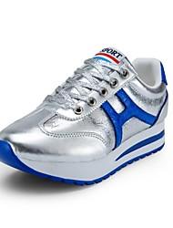 Zapatos de mujer - Plataforma - Plataforma - Zapatos de Deporte - Exterior / Casual / Deporte - Semicuero - Negro / Azul