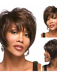 free style Short Straight Synthetic Wigs With Bangs for Women sw0124
