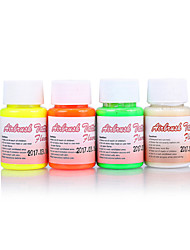 1 Bottle Airbrush Ink Fluorescent For Temporary Tattoo Makeup -Body Paint Tattoo Supplies