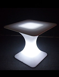 Led Coffee Table Square Center Table Plastic Table