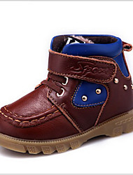 Baby Shoes Casual Leather Boots Black / Brown / Yellow