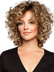 New Fashion Small Volume High Temperature Silk Hair Wigs Can Be Very Hot Can Dye The  Color Picture