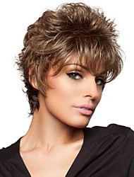 New Fashion Lady  Fashion High Temperature Silk Small Volume Short Curly Wig  Can Be Very Hot Can Be Dyed Color Picture