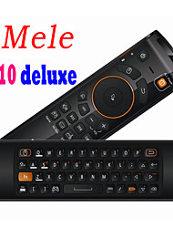 New MELE F10 Deluxe 2.4GHz Mini Fly Air Mouse 68 Key Wireless Keyboard Remote Control for PC/Notebook / TV BOX