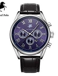 correa de reloj de cuero de la moda de los hombres con VA-nans-15071800104