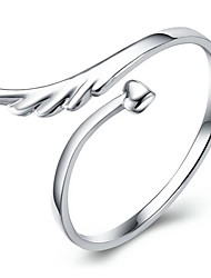 Midi Rings Crystal Alloy Wings / Feather Silver Jewelry Daily Casual Sports 1pc