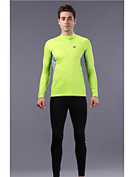 WEST BIKING® Take Underwear Jersey Fleece Pants Suit Function Within The Male Models Outdoor Warm Autumn And Winter